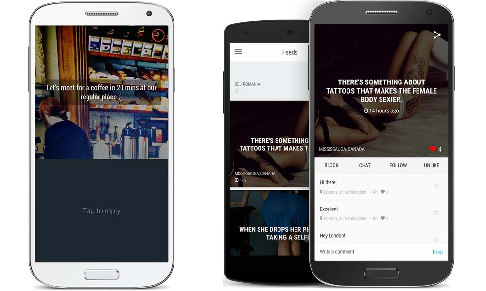 Psst Mobile App