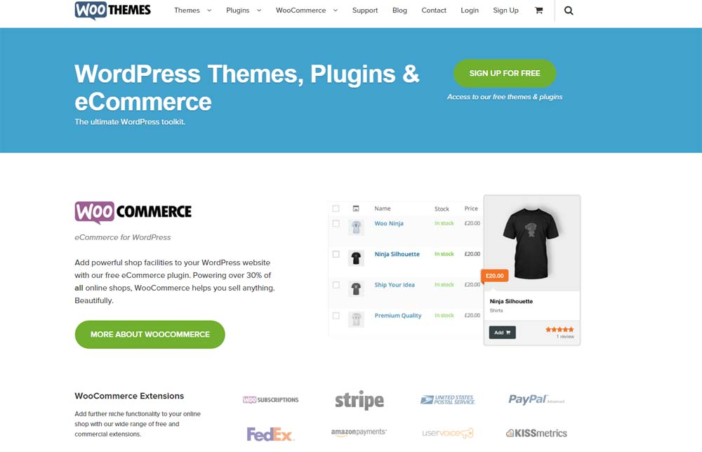WooCommerce E-commerce Platform is a best Platform