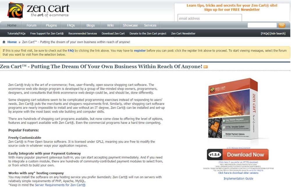 Self-Hosted E-Commerce Platforms
